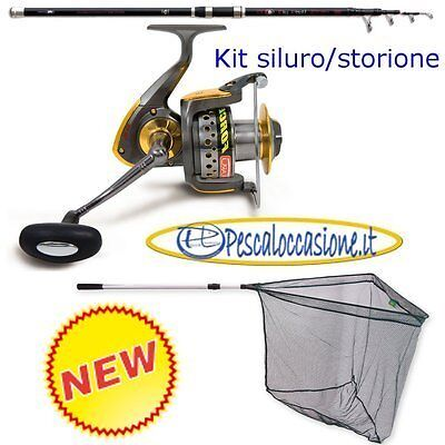 Fox Rage Cr600 Catfish Mulinello pesca Siluro Storione