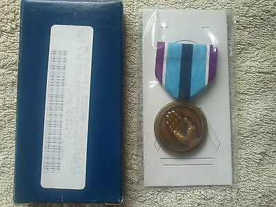 US MEDAL Humanitarian Service United States Armed Forces American Army Navy