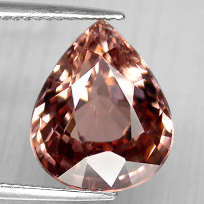 8.84Cts Gorgeous Luster Unheated Natural Ceylon Imperial Pink Zircon Watch Video