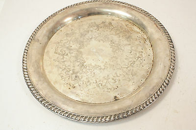 Antique/Vintage Silver Plated Serving Tray