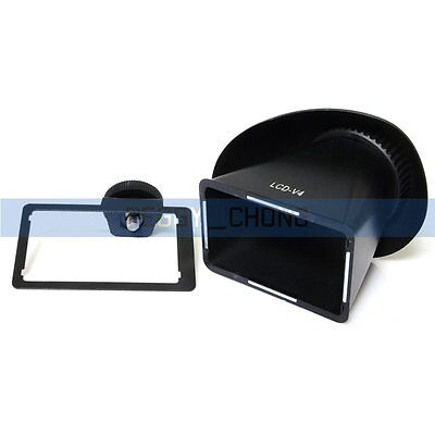 LCD viewfinder loupes Magnifier Eyecup Extender V4 Hood For Sony NEX-3 NEX-5