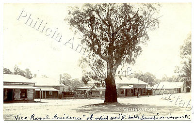 1907 RP PU POSTCARD W T COLLINS GENERAL SORE WILLIAMSTOWN SOUTH AUSTRALIA t7.