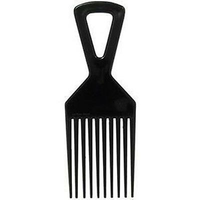 Deluxe Plastic Afro Hair Comb (for styling and untangling hair) African Hair Pik