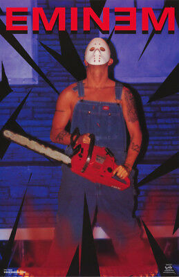 Poster : Music: Eminem  - Chainsaw - Free Shipping !      #6548       Rc7 A