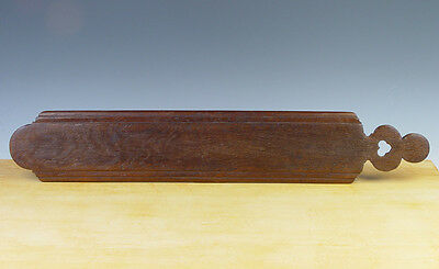 Antique Dutch Oak-Wooden Mangle-Board Circa 1700