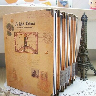 """Little Prince"" Hard Cover Diary Journal Planner School Gift 6 Covers Available"