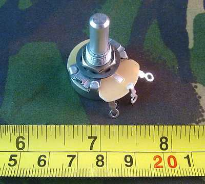 5W Five Watt Wirewound Rheostat, Potentiometer, Variable Resistor, Pot,  fp