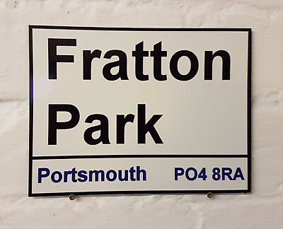Ipswich Town fc Portman Road Metal Street Sign 2 Sizes Available football ground
