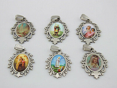 New Fashion Lots 20pcs stainless steel 361L  Mixed Design figure Charm Pendent