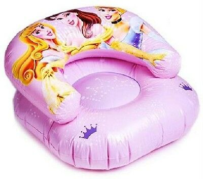 Certified Disney Princess/princesses Inflatable Chair~Aurora/belle/cinderella~Bn