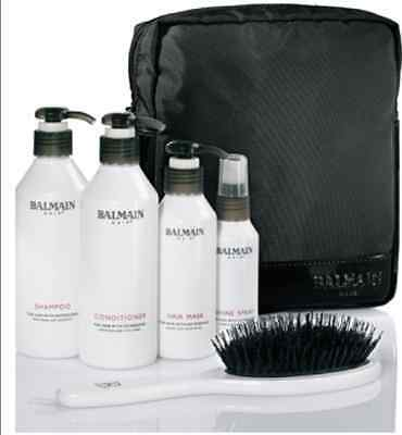 BALMAIN BEAUTY BAG (Brush, Conditioner etc..) ~ Human Hair Extensions After Care
