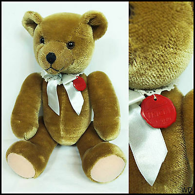 "Vintage Tricky Bear Schuco Teddy Bear Classic 16"" Patent"