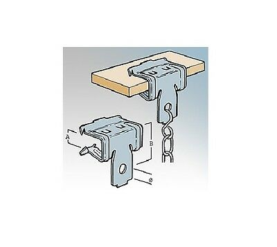 Britclips BC250 Beam Clips Pack of 25
