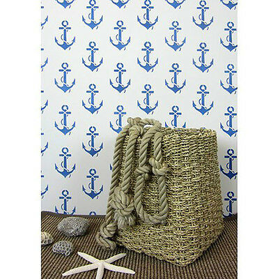 Anchors Away! Allover Stencil Design - Sturdy Reusable Stencils for DIY Decor