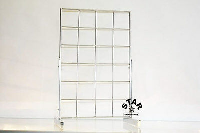 Counter Top Desktop Gridwall|Mesh|Grid|Wall Display Panel Accessories Stand