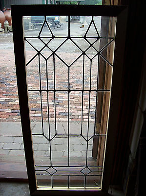 arts and crafts flat glass window   (SG 1500)