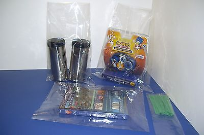 200 CLEAR 14 x 16 POLY BAGS PLASTIC LAY FLAT OPEN TOP PACKING ULINE BEST 1 MIL