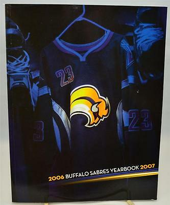 2006-2007 Buffalo Sabres Official Team Yearbook NHL Hockey NY
