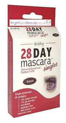 Godefroy Professional 28 Day Brown Mascara Salon Quality Dylash Made In Austria