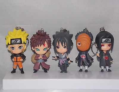 Naruto Japanese Anime Figures/Keyrings – RARE