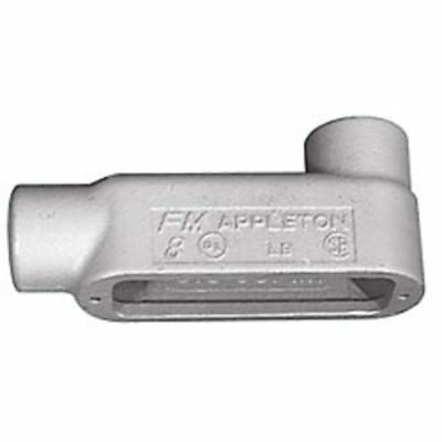 Appleton Electric Grayloy 1-1/2 In Iron FM8 Conduit Body Style LB 58 Brand New!