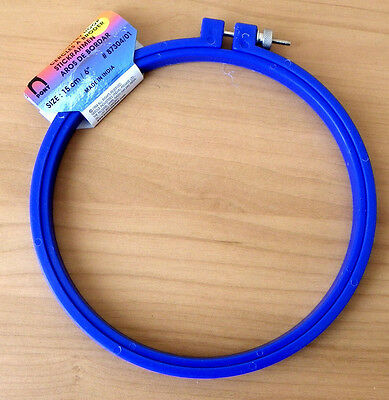 Pony Blue Embroidery Hoop 15cm 6 inch for needle craft sewing cross stitch