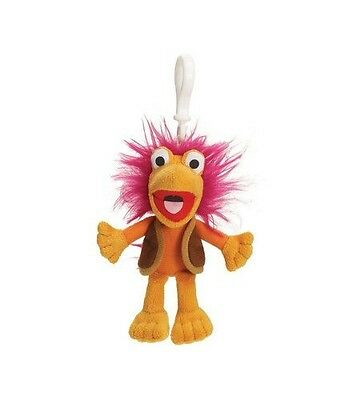 "Fraggle Rock Gobo Backpack Plush Clip 4""  Brand New 30 Year Anniversary"
