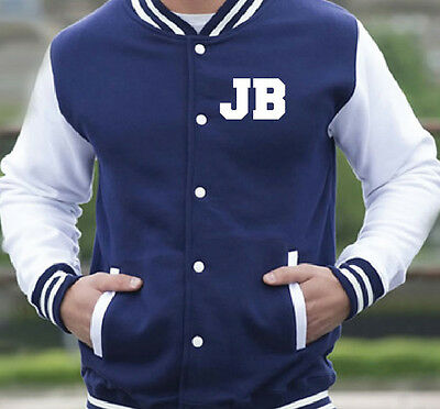 Personalised Kids Varsity Jacket - College School - 10 Colours - Ages 3-13