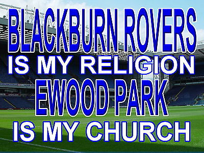 Blackburn rovers fc Ewood Park metal Street Sign 2 Sizes Available ground