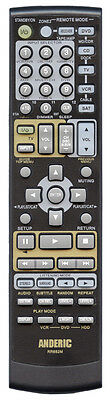 Onkyo® Remote Control Replacement for ALL Receivers by Anderic & 1-Year Warranty