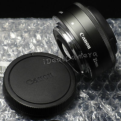 ***Sale*** New Genuine Canon EOS M EF-M 22mm F/2 STM Wide Angle Prime Lens