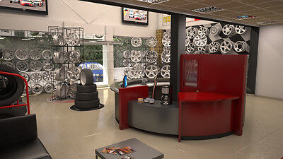 New & Used Tire & Rim Shop Start Up Sample Business Plan!