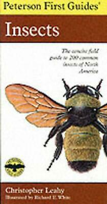Peterson First Guide to Insects by Roger Tory Peterson (English) Paperback Book
