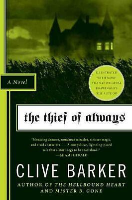 The Thief of Always by Clive Barker Paperback Book (English)