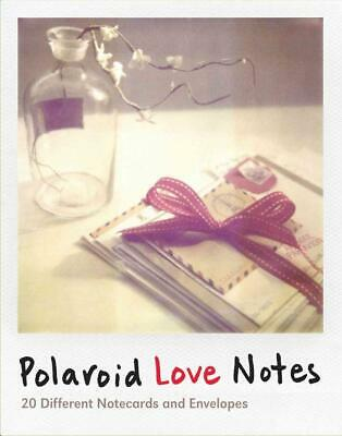 Polaroid Love Notes: 20 Different Notecards and Envelopes by Chronicle Books (En