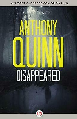 Disappeared by Anthony Quinn (English) Paperback Book Free Shipping!