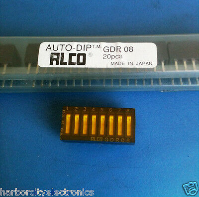 Gdr08 Alco Switch Dip Rocker 8 Position