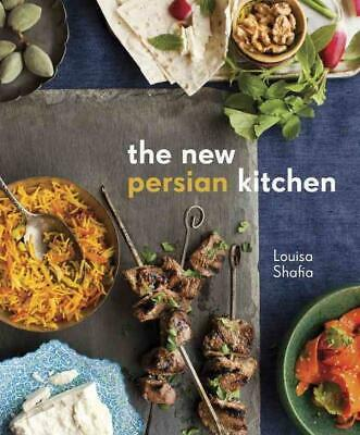 The New Persian Kitchen by Louisa Shafia Hardcover Book (English)