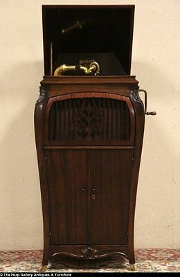 Sonora Antique 1915 Phonograph Wind Up Record Player