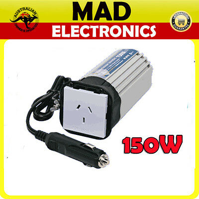 150W 12v DC - 240v AC CAN INVERTER w/ USB Port For LAPTOP RADIO Mobile Phone GPS