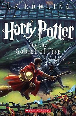 Harry Potter and the Goblet of Fire by J.K. Rowling (English) Paperback Book Fre