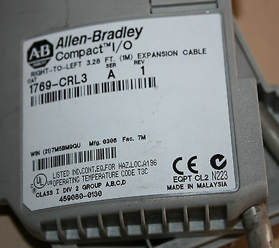 Allen Bradley Compact I/O 1769-CRL Right to left expansion cable