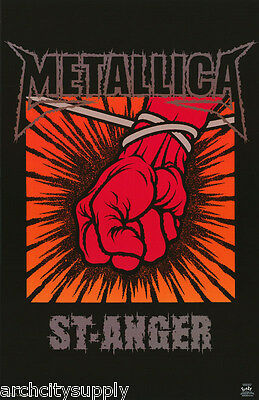 Poster : Music : Metallica - St-Anger - Free Shipping !! #6249  Lc30 J