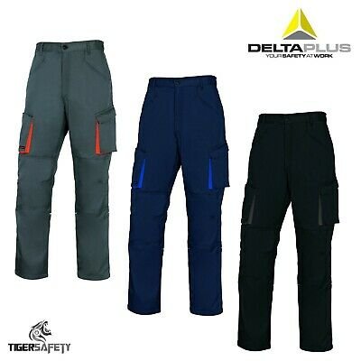Delta Plus Panoply M2PAN Mach2 Mens Cargo Combat Kneepad Work Trousers Pants