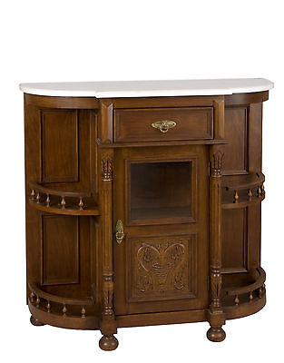 Antique style cabinet from beech wood ideal for bar since 1990