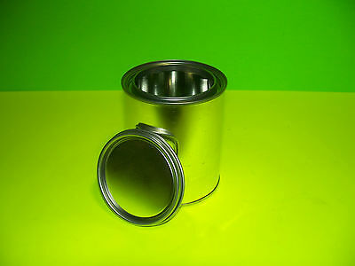 Pint Size Empty Metal Paint Can With Lids New Unused Case Of 50 Cans And Lids