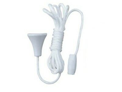 Replacement Spare Bathroom Light / Shower Room / Ceiling Switch Pull Cord String