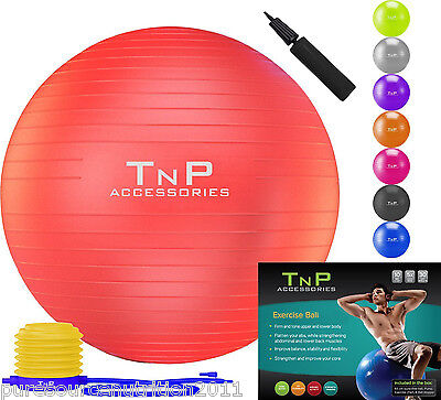 Fitness Exercise Swiss Gym Fit Yoga Core Ball Abdominal Back leg Workout