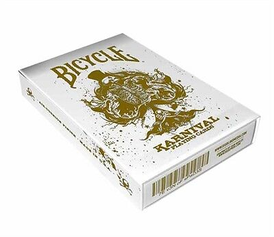 LIMITED EDITION Bicycle Karnival Gold Playing Cards 1 Deck New