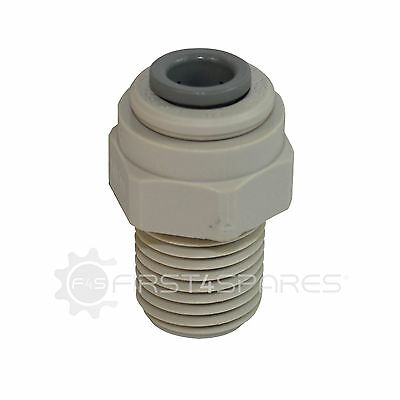 Refrigerator Water Filter Screw in 1/4 Inch Nut to Suit 1/4 Inch Tubing: Qty 10
